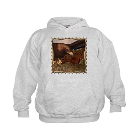 Flight of the Eagle Close Up Kids Hoodie