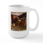 Flight of the Eagle Close Up Large Mug