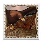 Flight of the Eagle Close Up Tile Coaster