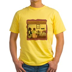 Goldilocks & The 3 Bears Yellow T-Shirt