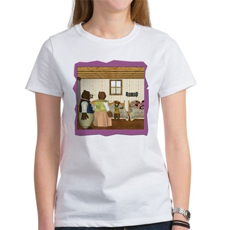 Goldilocks & The 3 Bears Women's T-Shirt