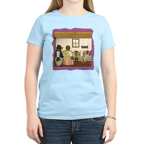 Goldilocks & The 3 Bears Women's Light T-Shirt