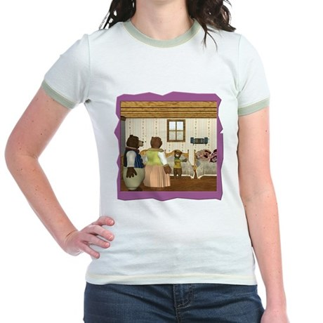 Goldilocks & The 3 Bears Jr. Ringer T-Shirt