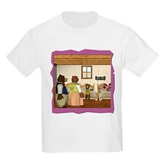 Goldilocks & The 3 Bears Kids Light T-Shirt