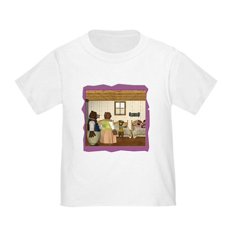 Goldilocks & The 3 Bears Toddler T-Shirt
