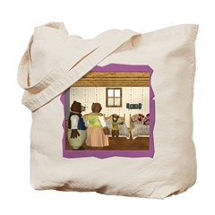 Goldilocks & The 3 Bears Tote Bag