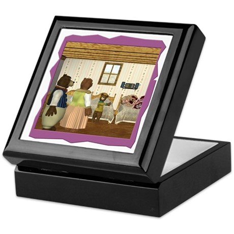 Goldilocks & The 3 Bears Keepsake Box