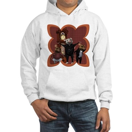 Hickory, Dickory, Dock Hooded Sweatshirt