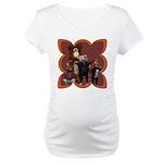Hickory, Dickory, Dock Maternity T-Shirt