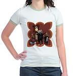 Hickory, Dickory, Dock Jr. Ringer T-Shirt