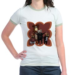Hickory, Dickory, Dock Jr. Ringer T-Shirt
