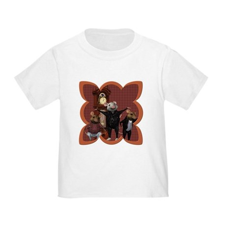 Hickory, Dickory, Dock Toddler T-Shirt