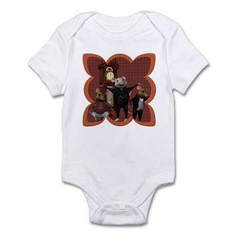 Hickory, Dickory, Dock Infant Bodysuit