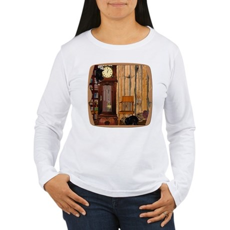 HDD Up the Clock! Women's Long Sleeve T-Shirt
