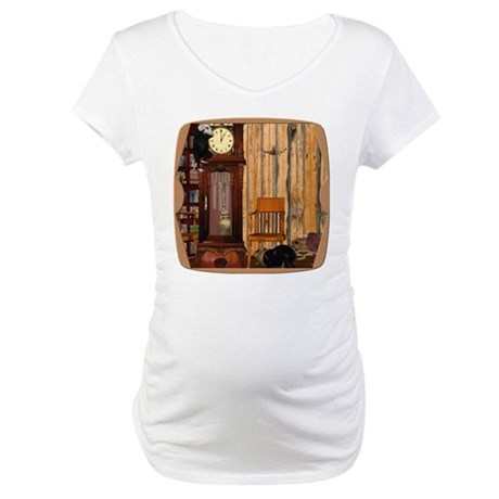 HDD Up the Clock! Maternity T-Shirt