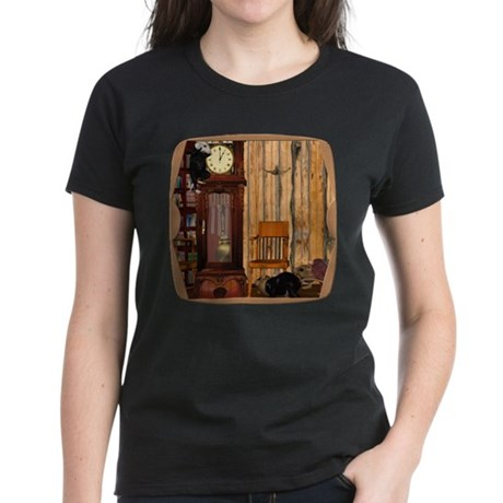HDD Up the Clock! Women's Dark T-Shirt