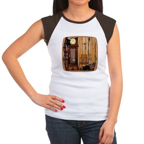 HDD Up the Clock! Women's Cap Sleeve T-Shirt