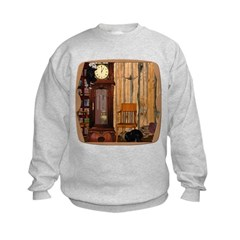 HDD Up the Clock! Kids Sweatshirt