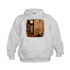 HDD Up the Clock! Kids Hoodie
