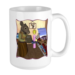 HDD Safe At Last! Large Mug