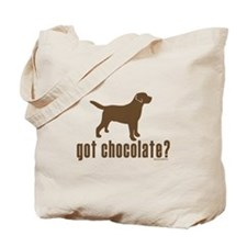 got chocolate lab? Tote Bag