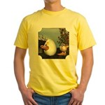HD and Coutchie-Coulou Yellow T-Shirt