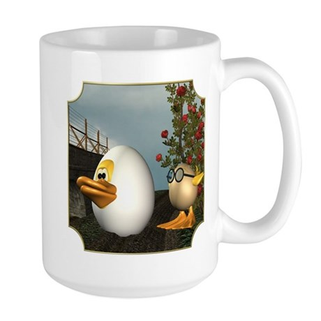 HD and Coutchie-Coulou Large Mug