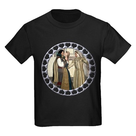 HD - A Princess Won! Kids Dark T-Shirt