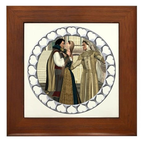 HD - A Princess Won! Framed Tile