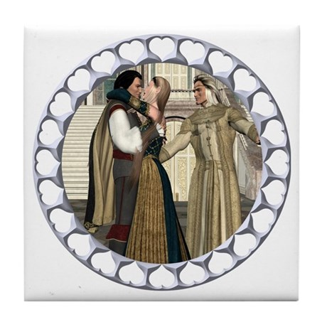 HD - A Princess Won! Tile Coaster