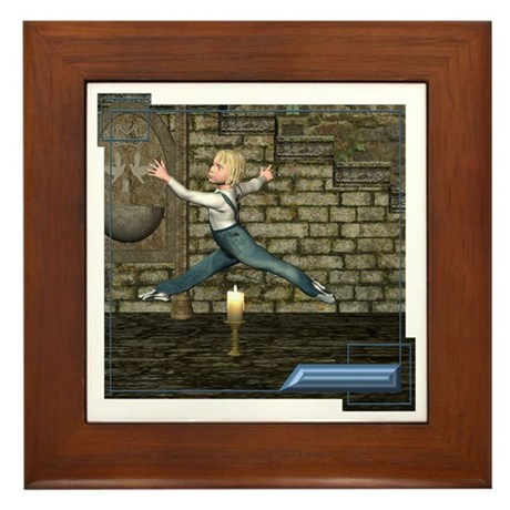 Jack Be Nimble Framed Tile