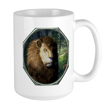King of the Jungle Large Mug