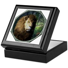 King of the Jungle Keepsake Box