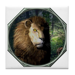 King of the Jungle Tile Coaster