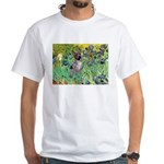 Irises-Am.Hairless T White T-Shirt