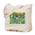 Irises-Am.Hairless T Tote Bag