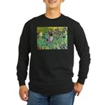 Irises-Am.Hairless T Long Sleeve Dark T-Shirt