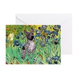 Irises-Am.Hairless T Greeting Card