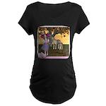 Little Bo-Peep Maternity Dark T-Shirt
