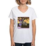 Little Bo-Peep Women's V-Neck T-Shirt