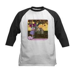 Little Bo-Peep Kids Baseball Jersey