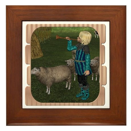 LLB - Blow Your Horn! Framed Tile