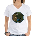 LBB - Asleep in the Hay! Women's V-Neck T-Shirt