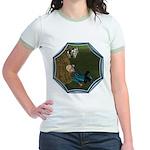 LBB - Asleep in the Hay! Jr. Ringer T-Shirt