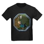 LBB - Asleep in the Hay! Kids Dark T-Shirt