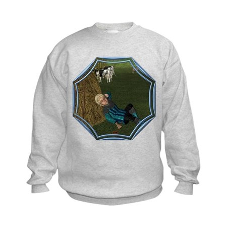 LBB - Asleep in the Hay! Kids Sweatshirt