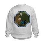 LBB - Asleep in the Hay! Kids Sweatshirt