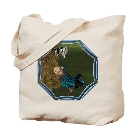 LBB - Asleep in the Hay! Tote Bag