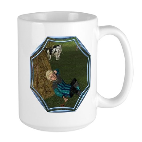 LBB - Asleep in the Hay! Large Mug