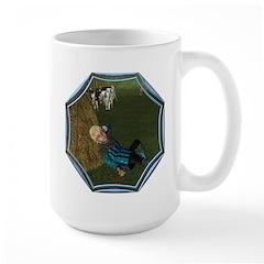 LBB - Asleep in the Hay! Large Mug